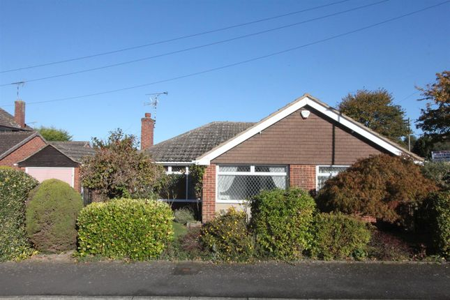 Thumbnail Detached bungalow for sale in Underwood Crescent, Sapcote, Leicester