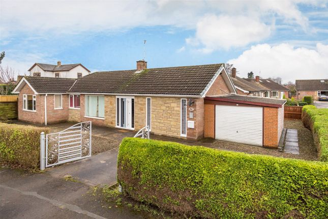 Thumbnail Detached bungalow for sale in New Lane, Huntington, York