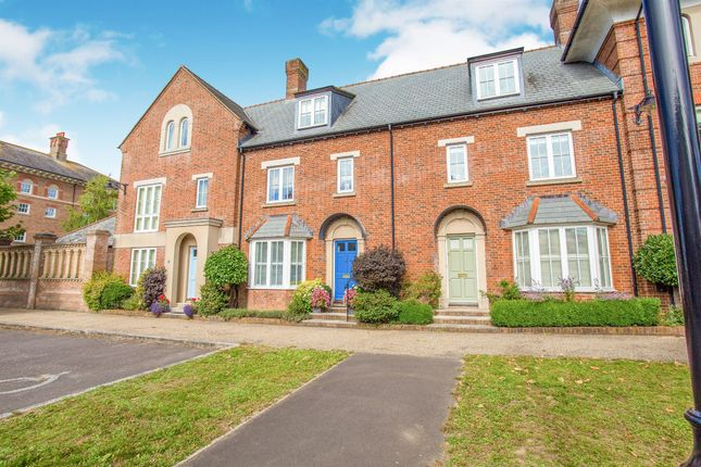 Thumbnail Terraced house for sale in Peverell Avenue West, Poundbury, Dorchester