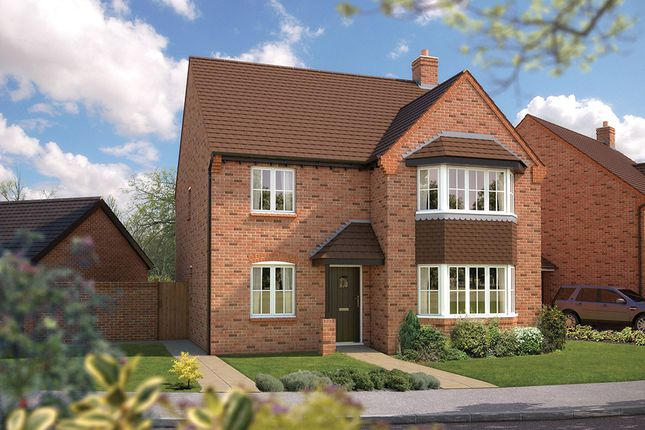 "Thumbnail Detached house for sale in ""The Oxford"" at Wall Hill, Congleton"