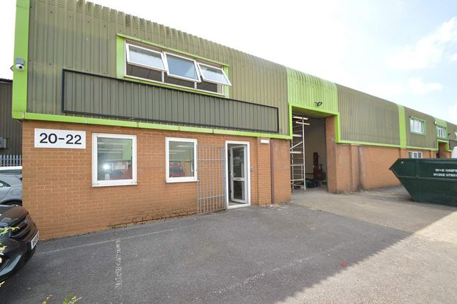 Thumbnail Warehouse to let in Unit 20-22 Benson Road, Poole