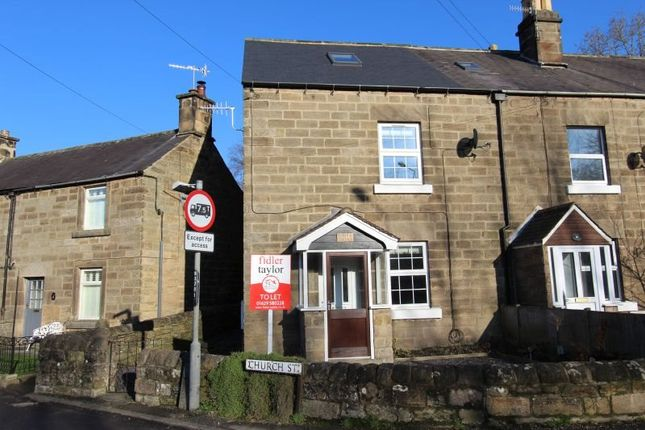 Thumbnail Cottage to rent in Nottingham Road, Tansley, Matlock