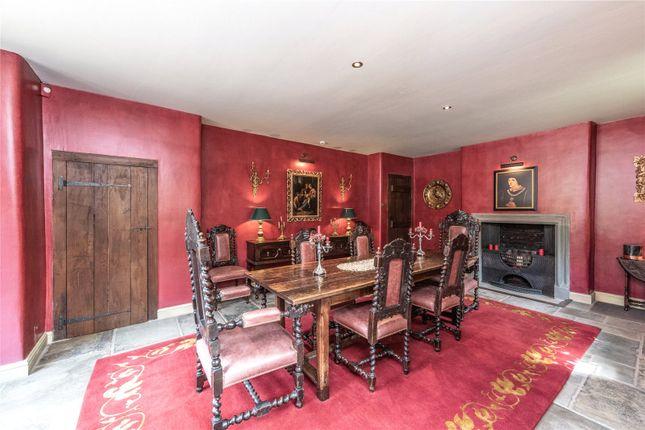 Dining Room of Waddington, Clitheroe, Lancashire BB7