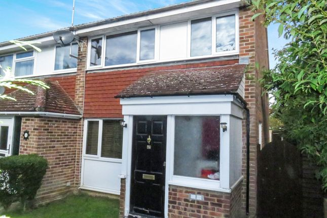 Thumbnail End terrace house for sale in Peregrine Drive, Tile Kiln, Chelmsford