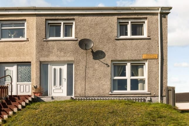 Thumbnail 3 bed end terrace house for sale in Oban Terrace, Greenock, Inverclyde