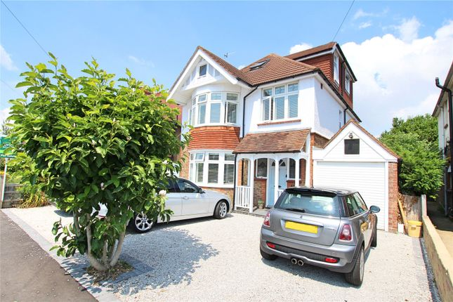 Thumbnail Detached house for sale in St Lawrence Avenue, Worthing, West Sussex