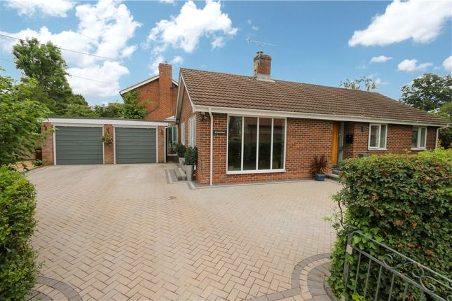 Thumbnail Detached bungalow for sale in Maurys Lane, West Wellow, Romsey, Hampshire