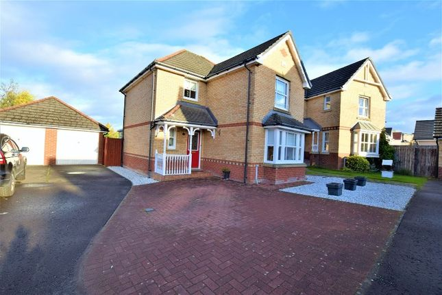 Thumbnail Detached house for sale in Easterbrae, Motherwell