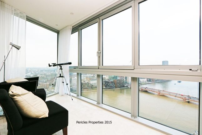 Thumbnail Flat to rent in The Tower, One St George Wharf SW8, London,