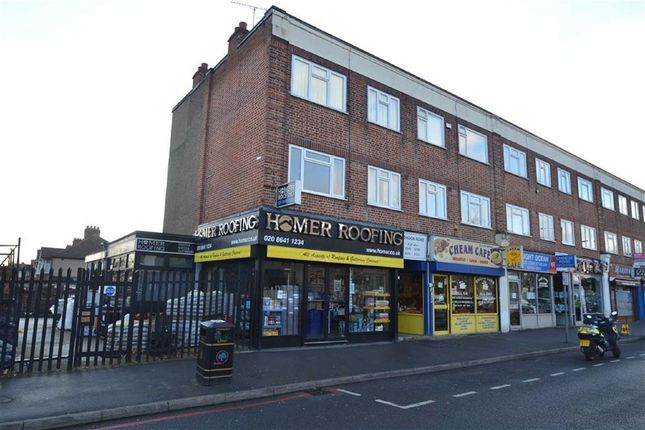 Thumbnail Flat to rent in London Road, North Cheam, Sutton