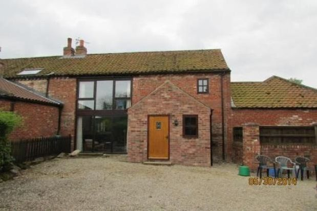 Thumbnail Barn conversion to rent in Great Barugh, Malton