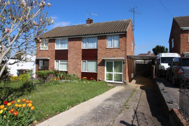 3 bed semi-detached house to rent in Arkwright Road, Irchester, Wellingborough NN29
