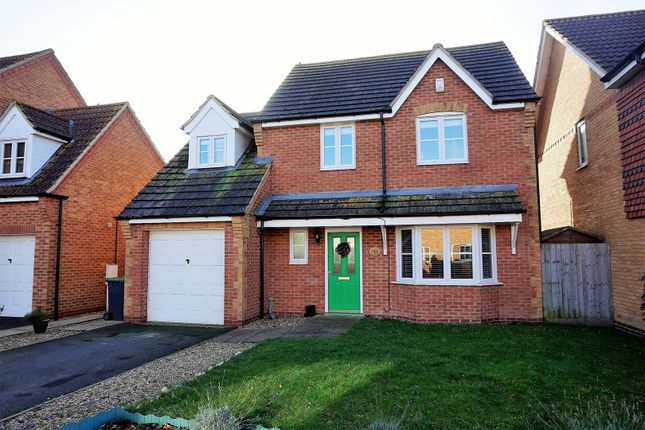 Thumbnail Detached house for sale in Field Road, Billinghay