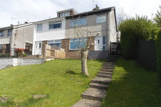 Thumbnail Semi-detached house for sale in Wingfield Close, Pontypridd
