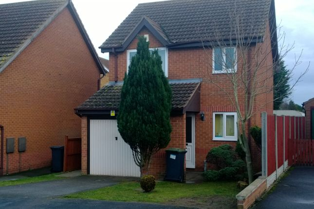 Thumbnail Detached house to rent in Beck Close, Ruskington