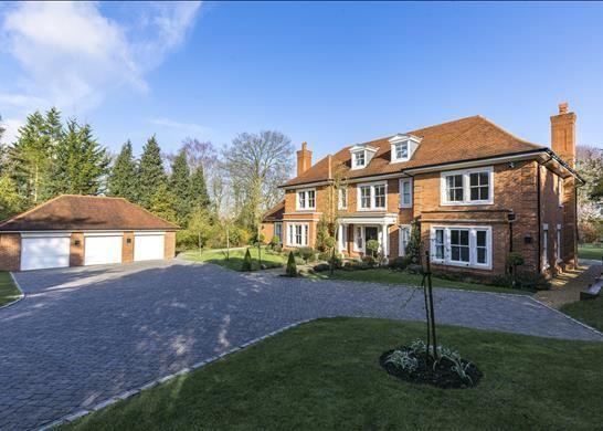 Thumbnail Detached house for sale in The Warren, Ashtead, Surrey