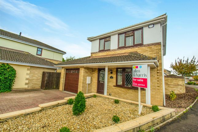 Thumbnail Detached house for sale in Maes Y Crochan, St. Mellons, Cardiff