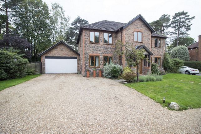 Thumbnail Detached house for sale in Lingmala Grove, Church Crookham, Fleet
