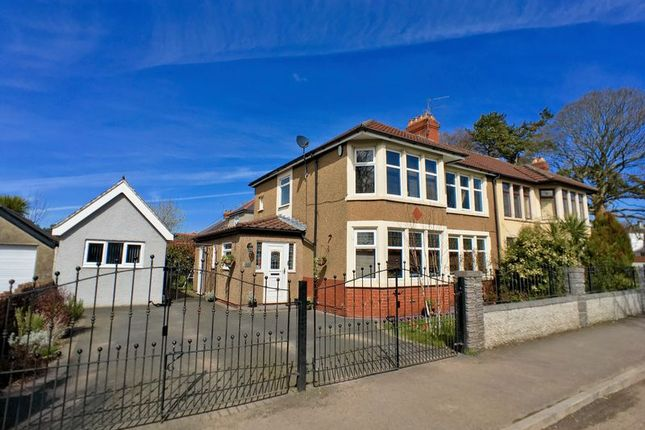 Thumbnail Semi-detached house for sale in Western Avenue, Llandaff, Cardiff