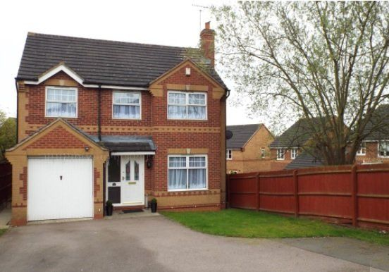 Thumbnail Detached house to rent in Foxon Way, Thorpe Astley, Leicester