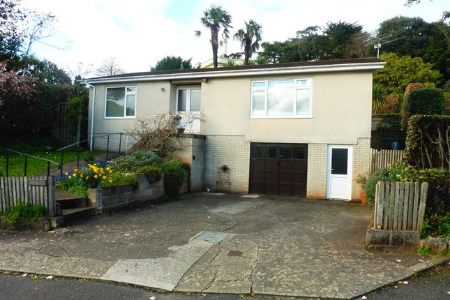 Thumbnail Detached bungalow for sale in St. Katherines Road, Torquay
