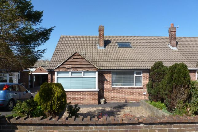 Thumbnail Semi-detached bungalow to rent in Carr Hill Grove, Calverley, Pudsey, West Yorkshire