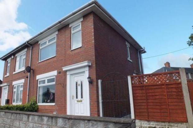 2 bed semi-detached house to rent in High Street, Sandyford, Stoke-On-Trent, Staffordshire ST6