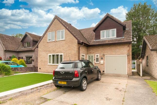 Thumbnail Detached house for sale in Tawe Park, Ystradgynlais, Swansea