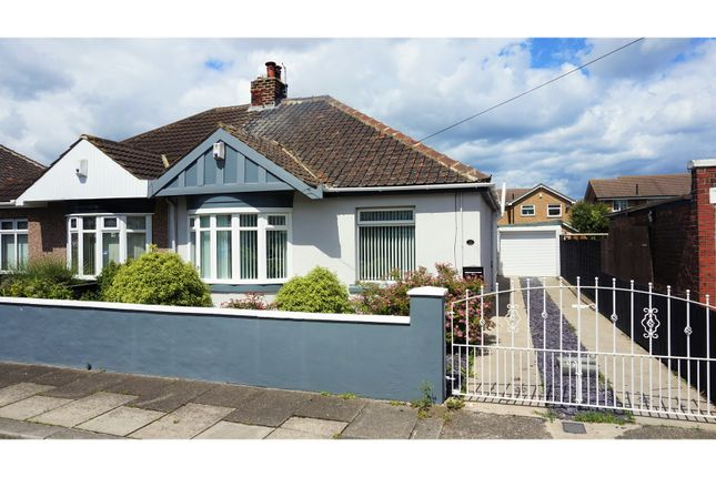 Thumbnail Semi-detached bungalow for sale in Glentower Grove, Hartlepool
