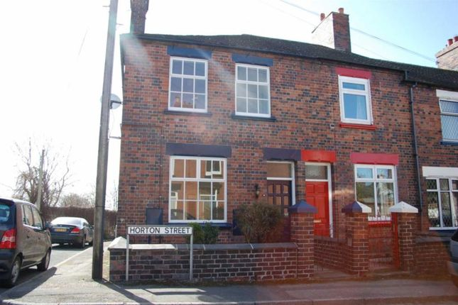 Thumbnail End terrace house to rent in Horton Street, Newcastle-Under-Lyme