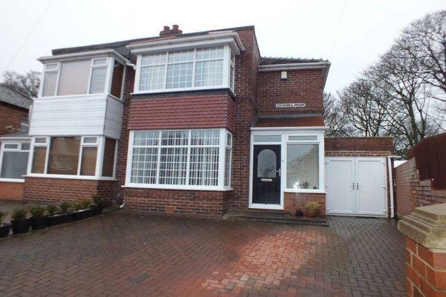Thumbnail Semi-detached house for sale in Denhill Park, Newcastle Upon Tyne