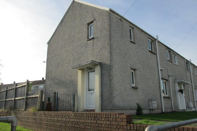 Thumbnail End terrace house to rent in Furzy Park, Haverfordwest