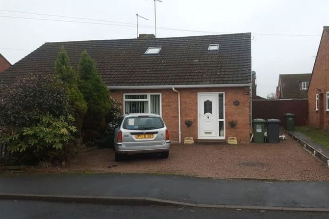 Thumbnail Semi-detached bungalow for sale in Chesshire Avenue, Stourport-On-Severn
