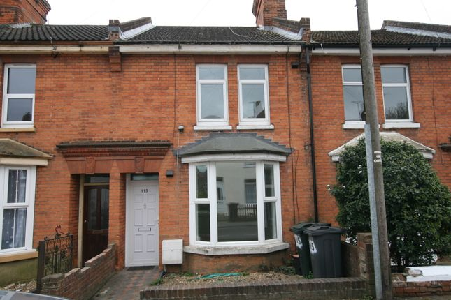 Thumbnail Terraced house to rent in Godinton Road, Ashford, Kent