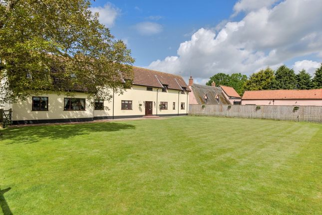 6 bed detached house for sale in Low Common Road, South Lopham, Diss