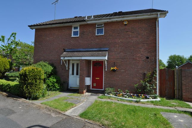 Thumbnail End terrace house for sale in Bilbury Close, Redditch