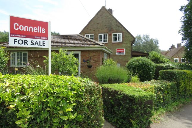 Thumbnail Semi-detached house for sale in The Warren, Brabourne Lees, Ashford