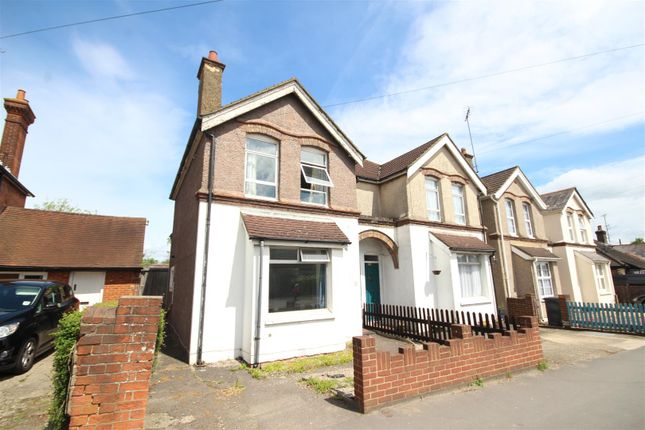 Thumbnail Semi-detached house to rent in The Crescent, Aldershot Road, Guildford