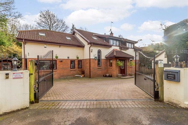 5 bed detached house for sale in Tregarn Road, Langstone, Newport Gwent NP18