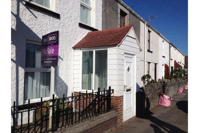 Thumbnail Terraced house for sale in Mumbles Road, Blackpill