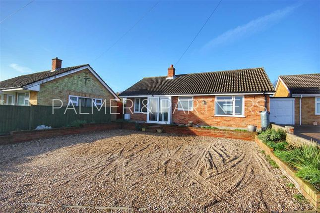 Thumbnail Detached bungalow for sale in Lodge Farm Road, Glemsford, Sudbury