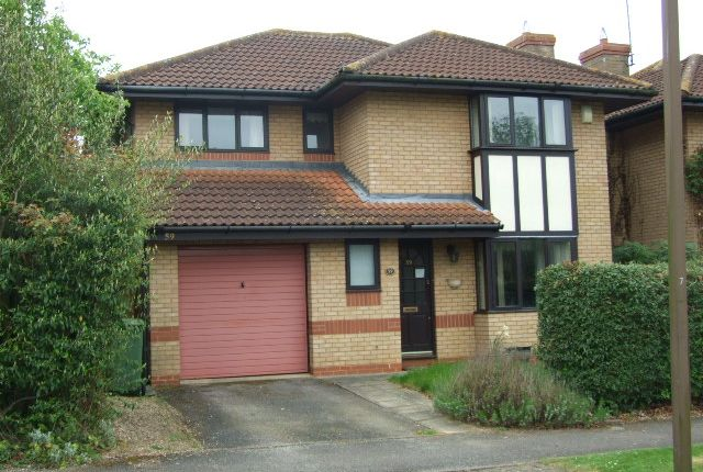 Thumbnail Detached house for sale in Isaacson Drive, Wavendon Gate
