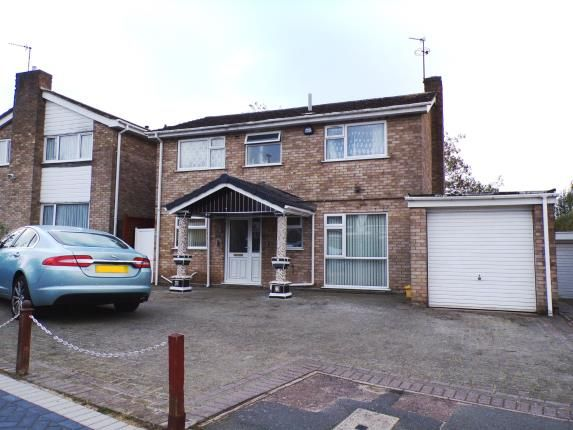 Thumbnail Detached house for sale in Buckfast Close, Evington, Leicester, Leicestershire