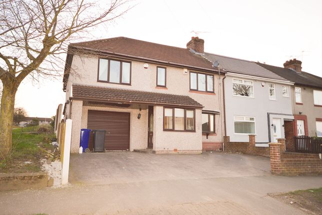 Thumbnail End terrace house to rent in Churchdale Road, Sheffield