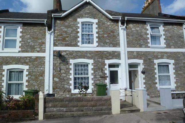 Thumbnail Terraced house for sale in Woodville Road, Torquay, Devon
