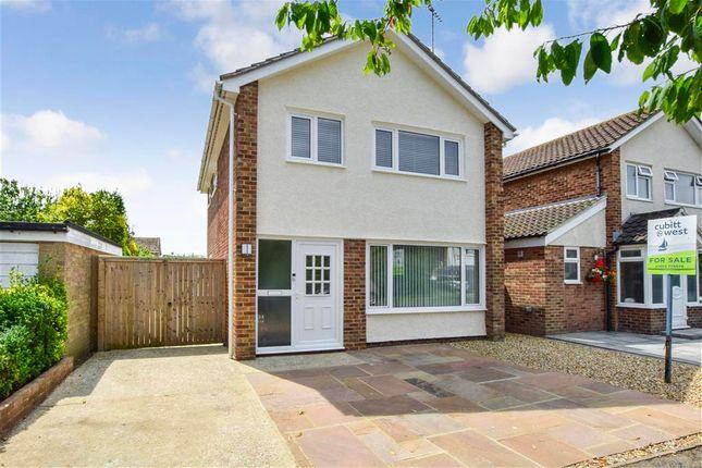 Thumbnail Detached house for sale in Chanctonbury Close, Rustington, West Sussex