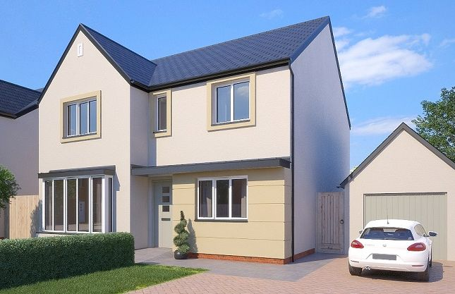 Thumbnail Detached house for sale in The Pickering, Greenspire, Clyst St Mary, Exeter, Devon