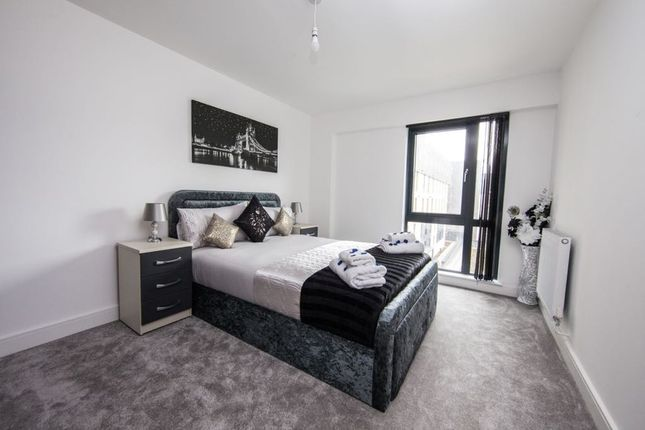 Thumbnail Flat to rent in Bradford Street, Birmingham