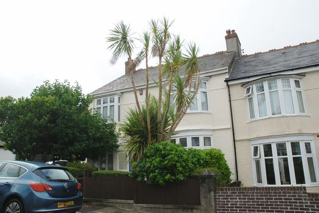Thumbnail End terrace house to rent in Glenwood Road, Plymouth