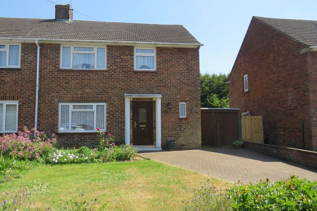 Thumbnail Semi-detached house for sale in Covallen Court, Blinco Road, Rushden